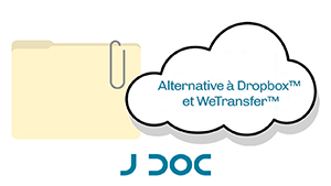 Alternative française à Dropbox®, Google Drive®, WeTransfer® ...